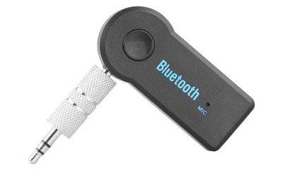 Bluetooth гарнитура авто MHZ адаптер ресивер магнитолы AUX MP3 WAV 54х22х10 мм.