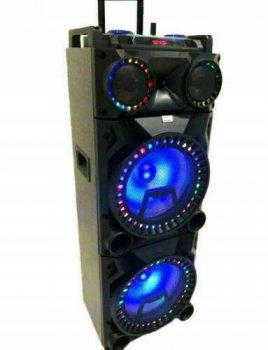 Колонка акустическая аккумуляторная DMS K8-24W2 USB/SD/MP3/WMA, Wireless LED