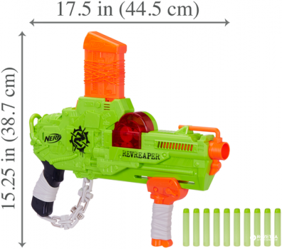 Бластер Hasbro Nerf Зомби Страйк Реврипер (E0311) (5010993447503)
