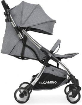 Прогулочная коляска El Camino Milly ME 1059 Fog Grey (ME 1059 fog grey)