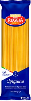 Макароны Pasta Reggia 5 Linguine Лапша 500 г (8008857200057)