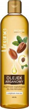Гель для душа Lirene Oils Аргана и марула 400 мл (5900717813311/5900717813328)