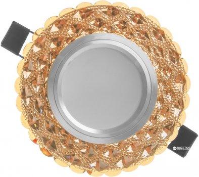 Світильник точковий з підсвіткою Brille HDL-G263/8W + 3W LED COF (36-176)