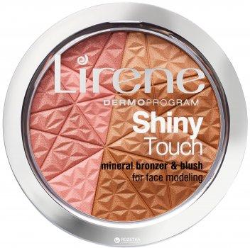 Минеральный бронзатор Lirene Shiny Touch с розовым сияющим тоном 9 г (5900717699410)
