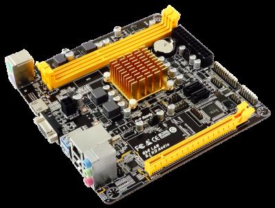 Материнская плата Biostar A68N-2100E (AMD E1-2150, AMD 760G, PCI-Ex16)