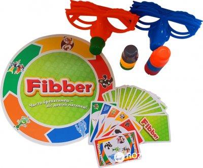 Настільна гра Kingso Toys Фібер (JT007-47) (6505286895271)