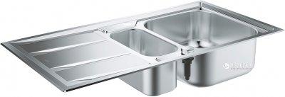 Кухонна мийка GROHE Sink K400+ 983x513 31569SD0 сатин