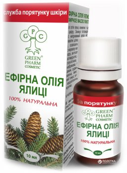 Эфирное масло Green Pharm Cosmetic пихта 10 мл (4820182112126)