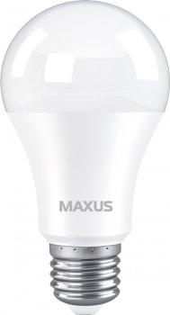Лампа світлодіодна MAXUS A60 10 Вт 4100 K 220 В E27 (1-LED-776-01)