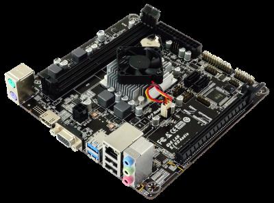 Материнская плата Biostar A68N-5600E (AMD PRO A4-3350B, Carrizo-L, PCI-Ex16)