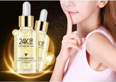 Эссенция для лица Images Gold Skin Care с 24К золотом и гиалуроновой кислотой 30 мл (SKU_551-mg)