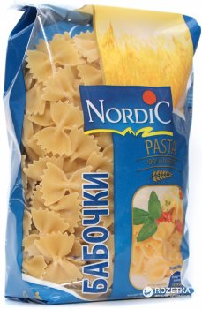 Макаронні вироби Nordic Метелики 500 г (6411200108597)