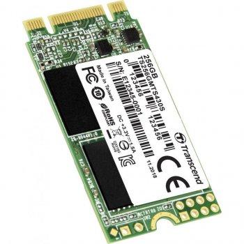 Накопичувач SSD M. 2 2242 256GB Transcend (TS256GMTS430S) (WY36TS256GMTS430S)