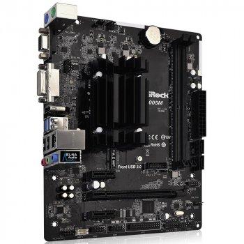 Материнська плата ASRock J4005M (Intel Celeron J4005, SoC, PCI-Ex16) (WY36700006)