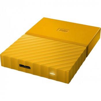 Зовнішній жорсткий диск WD 2TB USB (WDBS4B0020BYL-WESN) My Passport Yellow (WY36dnd-202882)