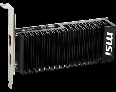 Видеокарта MSI GT1030 2GB Low Profile Silent (GT 1030 2GHD4 LP OC) (WY36dnd-203613)