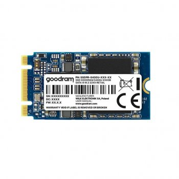 Накопичувач SSD M. 2 2242 240GB GOODRAM (SSDPR-S400U-240-42) (WY36dnd-230419)