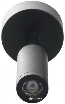 Світильник стельовий Brille HTL-186/1х3W NW BK (26-489)