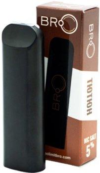 Одноразова електронна сигарета Nolimit BRO Disposable Pod 50 мг Tobacco (Тютюн) (NL-DPOD-ТA)