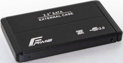"""Внешний карман Frime для HDD/SSD 2.5"""" SATA USB 3.0 Black (FHE20.25U30)"""