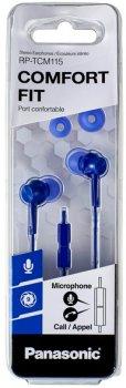Навушники Panasonic RP-TCM115GC-A Blue