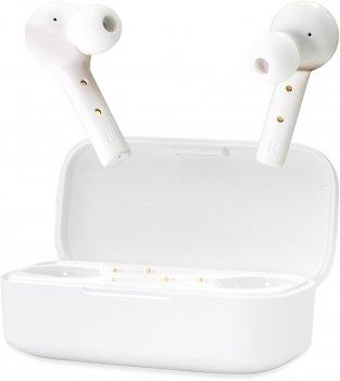 Навушники QCY T5 TWS Bluetooth White (6957141405512)