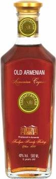 Бренді Old Armenian V.S.O.P 5* 0.5 л 40% (4850015312263)