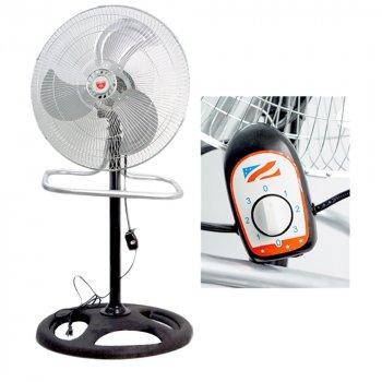 Напольно-настільний вентилятор Rainberg FS-4521 з металевими лопатами (LS1010053821)