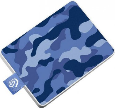 "Seagate One Touch SSD 500GB 2.5"" USB 3.0 Camo Blue (STJE500406) External"