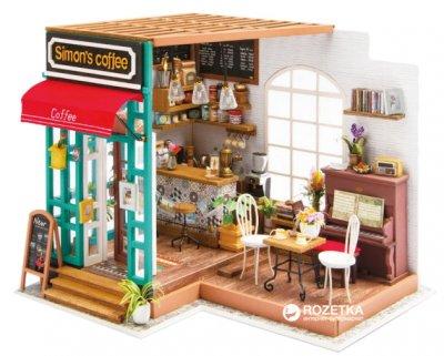 Мини-интерьерная модель ручной работы Robotime Кафе (6946785164657)