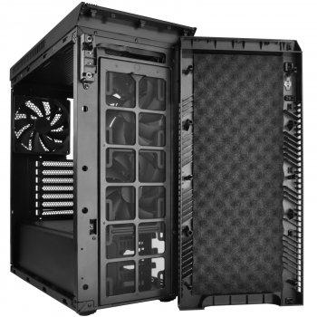 Корпус SilverStone Хубілай KL07B безшумний Black (SST-KL07B)