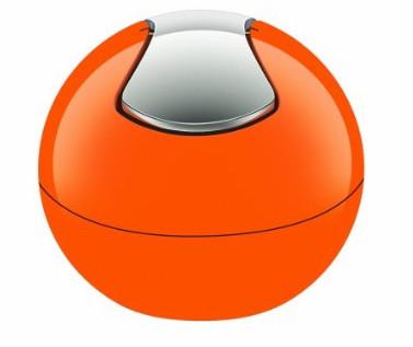 10.14966 Відро 1л plastic BOWL помаранчеве