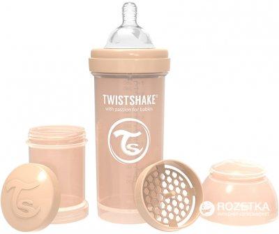 Бутылочка для кормления антиколиковая Twistshake с силиконовой соской 260 мл (7350083122599)