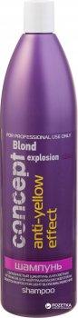 Серебристый шампунь Concept для светлых волос 1000 мл (4690494012366)