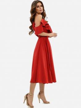 Плаття ISSA PLUS 11493 Червоне