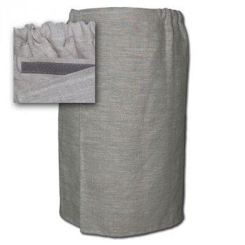 Парео льняное для бани и сауны (70*135 см)
