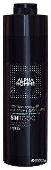 Шампунь для волос Estel Professional Alpha Homme Pro тонизирующий с охлаждающим эффектом 1000 мл (4606453052236)