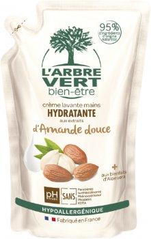 Крем-мыло L'Arbre Vert увлажняющее с натуральным экстрактом сладкого миндаля 300 мл (3450601026430)