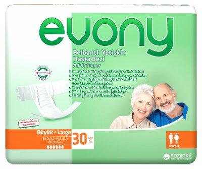 Підгузки для дорослих Evony 3 Large 30 шт. (8690536804085)