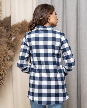 Рубашка ELFBERG 430 Темно-синяя
