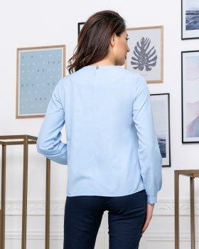Блузка ELFBERG 441 Блакитна