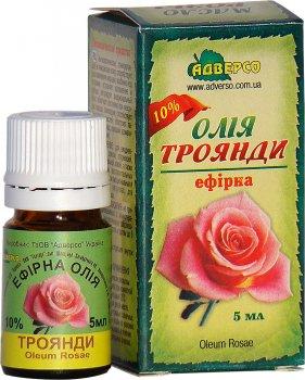 Масло эфирное Адверсо Розовое 10% 5 мл (4820104011049)