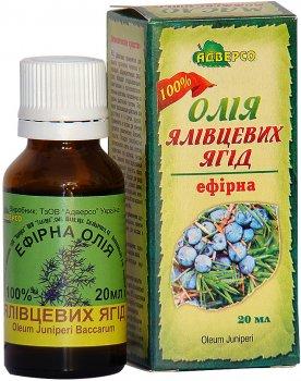Олія ефірна Адверсо Ялівцева 20 мл (4820104012633)