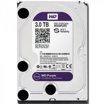Жорсткий диск 3.5 3TB Western Digital (WD30PURZ) (WY36WD30PURZ)