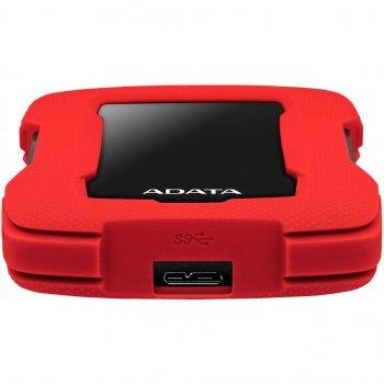 Зовнішній жорсткий диск 2.5 2TB ADATA (AHD330-2TU31-CRD) (WY36AHD330-2TU31-CRD)