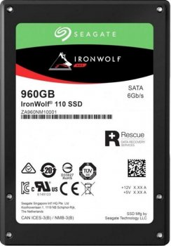 Seagate IronWolf SSD 960GB SATAIII 2.5 3D TLC (ZA960NM10011) (1883562)