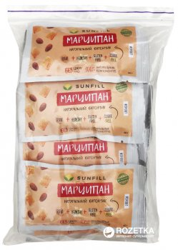 Упаковка батончиков Sunfill Марципан 40 г х 10 шт (4820211260064)