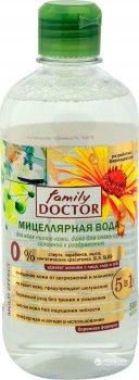 Міцелярна вода Family Doctor для всіх типів шкіри, навіть для дуже сухої 500 мл (4823080001882)