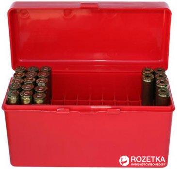 Кейс МТМ R-60 для патронов 308win, 30-06 на 60 патр. Красный (17730472)