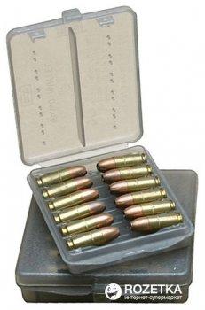 Кейс МТМ Ammo Wallet для пистолетных патронов 45 ACP на 18 патр. Дымчатый (17730851)